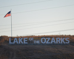 Lake of the Ozarks | Sign